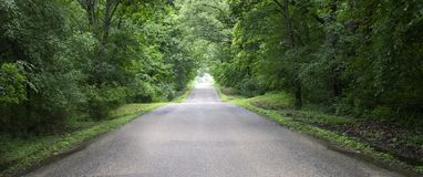 Country Road Banner, Panorama, Panoramic, Background Stock Images