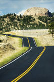 Country road in California Royalty Free Stock Photos