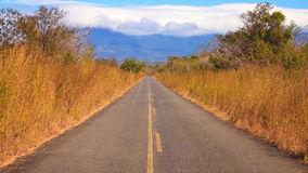 Country Road in Costa Rica Royalty Free Stock Photos