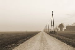 Country road Royalty Free Stock Photos
