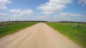 Country road stock footage