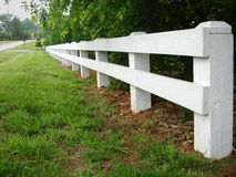 Country Road Fence Royalty Free Stock Photo