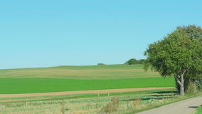 Country road in Germany. Baden-Wurttemberg stock video footage