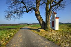 On a country road Royalty Free Stock Photography