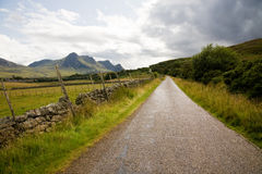 Country road, Highlands Stock Photos