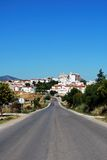 White village, Olvera, Andalusia. Royalty Free Stock Photos