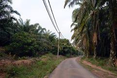 Country Road. In Melaka Malaysia Stock Photo