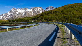 Country road in Norway Stock Photography