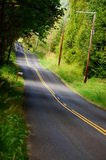 Country Road. A country road that offers a scenic route Royalty Free Stock Photos