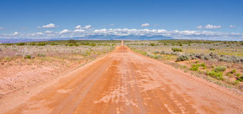 Country Road Outside of Moab, Utah Royalty Free Stock Photos