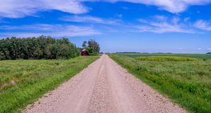 Country road panorama Stock Image
