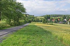 Country Road. Stock Photo
