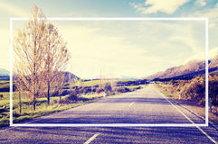 Country Road Roadside Province Rural Scene Concept Stock Photography