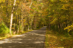 Country Road in Rockbridge County, Virginia, USA Stock Images