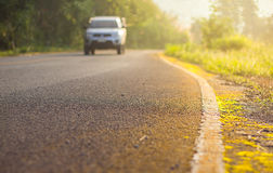 Country road scene Royalty Free Stock Photo