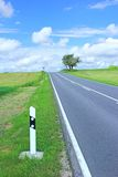 Country road. On the Swabian Alb, Germany Royalty Free Stock Images
