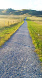 Country road take me home. Path in the coulees Royalty Free Stock Photography