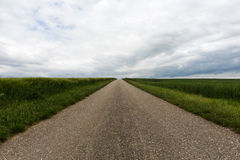 Country road to nowhere Stock Image