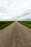Country road to nowhere Royalty Free Stock Image