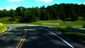 Country Road 1 stock footage
