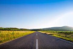 Country road in Tuscany, Italy Royalty Free Stock Photo