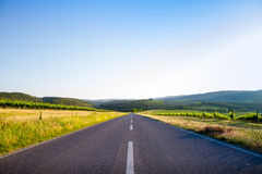 Country road in Tuscany, Italy Stock Image