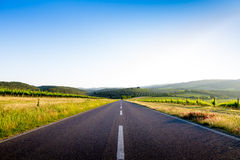 Country road in Tuscany, Italy Royalty Free Stock Photography
