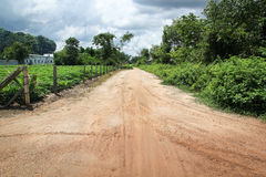 Country Road Vietnam Royalty Free Stock Photos