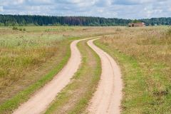 Country road Stock Image