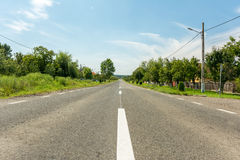 Country Road View Royalty Free Stock Images