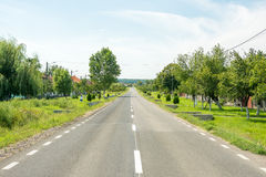 Country Road View Royalty Free Stock Photography