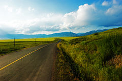 Country roads Royalty Free Stock Photos