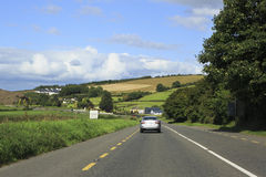 Country roads in Ireland Stock Images