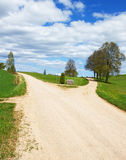 Country roads. Royalty Free Stock Images