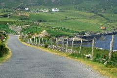 Country roads in West Cork, Ireland Royalty Free Stock Photos