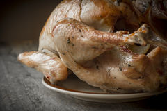 Country Roasted Turkey Stock Images