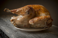 Country Roasted Turkey Stock Image
