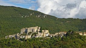 The country of Rocca Sinibalda Royalty Free Stock Image