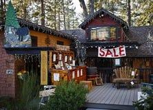 Country Sale, Idyllwild, California Stock Photo