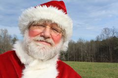Country Santa 3 Stock Photo