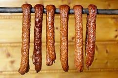 Country sausage Royalty Free Stock Photos