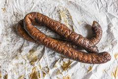 Country sausage Stock Photography