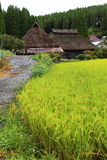 Country scenery. It is a country scenery of Japan Stock Photo