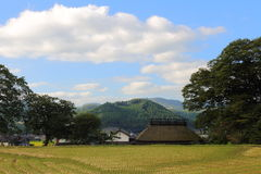 Country scenery. It is a country scenery of Japan Stock Images