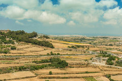 Country scenery of Mdina Stock Image