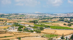 Country scenery of Mdina Royalty Free Stock Photography