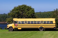 Country School Bus Royalty Free Stock Photos