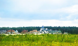 Country settlement Stock Photography