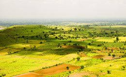 Country side. Landscape shot in Maharashtra state of India, near Ahmednagar Royalty Free Stock Image