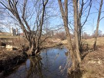 Country Side Beauty. Beauty water creek Stock Photos